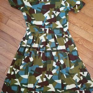 LuLaRoe Size Small Knee Length Dress